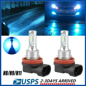 H11 Led Headlight Super Bright Bulbs Kit 8000k White 330000lm High low Beam