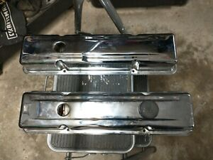 Small Block Chevrolet Chrome Valve Covers