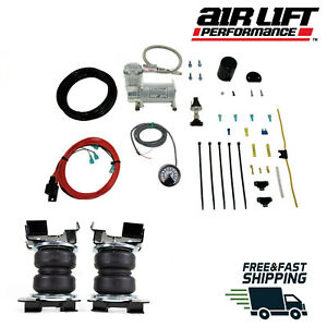Air Lift Load Lifter 5000 Ultimate Bags With Load Contoller 2015 2020 Ford F150