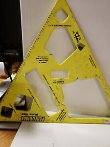 Performax Plate Vise Steel Yellow Plate Vise W Multiple Grip Ports