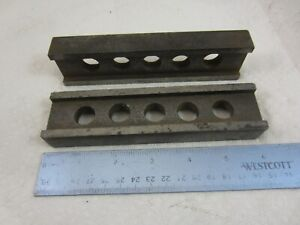 Machinist I Beam Parallel Bars 5 Holes 1 2 X 3 4 X 6 Milling