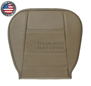 2002 2003 2004 Ford Mustang V6 Convertible Driver Bottom Leather Seat Cover Tan