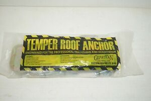 Guardian Temper Reusable 5 000 Lb Safety Roof Anchor 00455 New