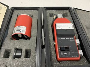 Quest Electronics Model 215 Sound Level Meter W Ca 12sound Calibrator Mw00