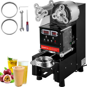 Bubble Tea Cup Sealer Sealing Machine Electric Fully automatic 500 650 Cups hr