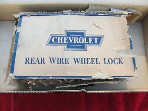 1929 1930 1931 Chevrolet Nos Accessory Spare Tire Lock Assembly New In Box