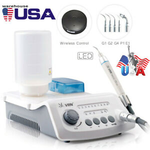 Dental Cordless Control Ultrasonic Scaler With Led Handpiece Auto water Supply