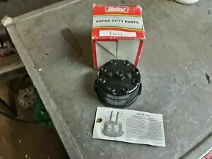 Vintage Mallory 4001 V8 Distributor Cap New Old Stock Mallory Yl