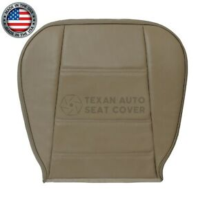 1999 2004 Ford Mustang V6 Gt Driver Bottom Synthetic Leather Seat Cover Tan