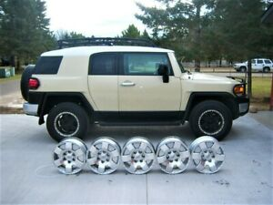 Set Of 5 2007 2008 2009 2010 Toyota Fj Cruiser 17 Oem Factory Wheels Rims 69503