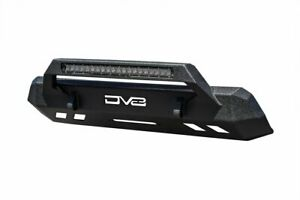 Dv8 Offroad Center Mount Winch Capable Front Bumper For 16 20 Toyota Tacoma