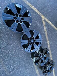22 Ford Expedition F150 Oem Factory Stock Wheels Rims 6x135 20 Limited Black