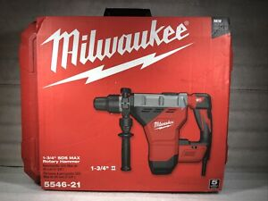 New Milwaukee 5546 21 Sds Max Rotary Hammer