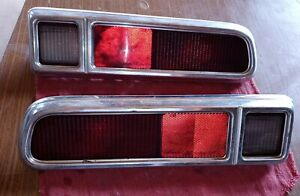 1970 1977 Pair Maverick Pinto Tail Light Assembly