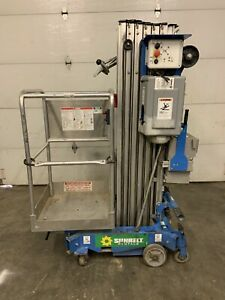 2011 Genie Awp30s 30 Electric Personnel Scissor Vertical Mast Man Lift