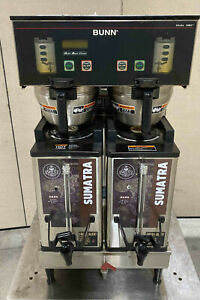 Bunn Dual Sh Dbc Commercial Coffee Brewer 2012 Model Server 33500 Maker Pickup