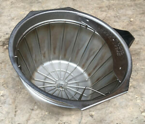 Bunn Brewwise Stainless Steel Smart Funnel Filter Basket Tray 32643 Dbc Icb Itcb