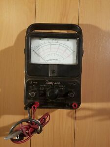 Simpson Model 260 Multimeter Vintage original