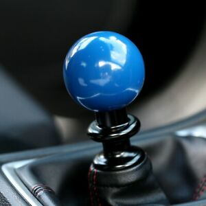 Ssco Rally Blue Sr 55mm 190 Grams Weighted Shift Knob Shifter Sphere