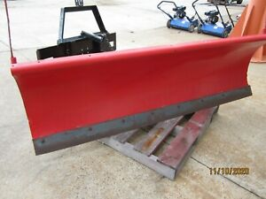 Western Snow Plow 7 6 For Bobcat