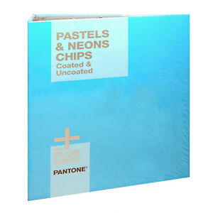 Pantone Pastels neons Chip Book Coated Uncoated Gb1504