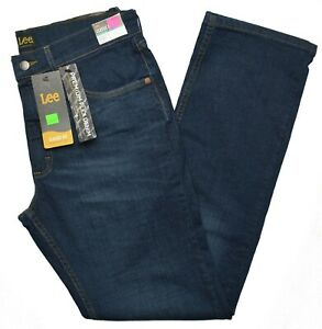 Lee #10360 NEW Men#x27;s Classic Fit Straight Leg Premium Flex Denim Hijack Jeans $21.99