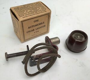 Nos Antique Auto Clamp On Ford Model A T Chevy Vintage Car Cigarette Lighter