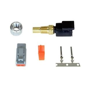 Aem Universal 1 8 Npt Water Oil Temperature Sensor Kit With Dtm Style Connector