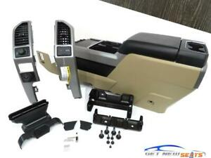 Ford F150 F250 F350 Center Console Install Kit 2015 2016 2017 2018 2019 2020