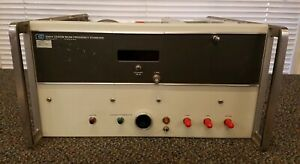 Hp Agilent Keysight 5061a Cesium Beam Frequency Standard Untested Opt 1 4