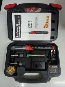 Power Probe Pro 50w Rechargeable Electric Soldering Iron Kit Ppps50w