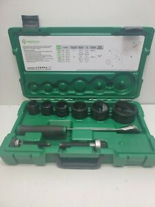 Excellent Greenlee 7238sb Slugbuster Knockout Punch Set 1 2 2 Conduit
