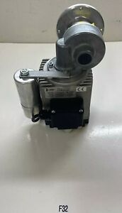 Preowned Bauser Emk 8042 Electric Motor Gear Reducer 30 1 Ratio Fast Shipping