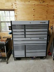 Snap on Master Series Roll Cab Top And Bottom Box Krl7022 Krl1201