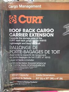 Curt Manufacturing Roof Rack Cargo Carrier Extension Cur 18117