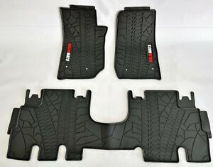 Solidmats Rubber All Weather Floor Mats Set For 2007 18 Jeep Wrangler Unlimited