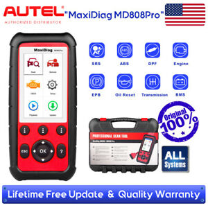 Autel Md808 Pro Auto Scanner Car Diagnostic Tool Vs Maxicheck Pro Md805 Md802