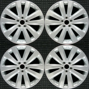 Subaru Forester All Silver 17 Oem Wheel Set 2011 To 2013