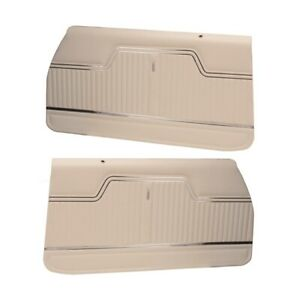 Pui Pd243 1970 1972 Chevelle White Front Door Panels