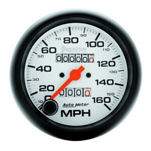 Autometer 5893 Phantom Mechanical Speedometer 160 Mph 3 3 8 Inch