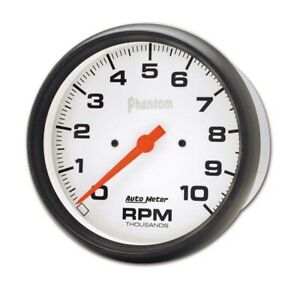 Autometer 5898 Phantom Air Core In Dash Tachometer 10k Rpm 5 Inch