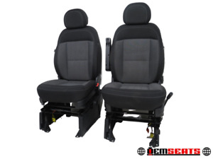 Dodge Ram Promaster Van Oem Cloth Seats With E Brake 2014 2015 2016 2017 2018