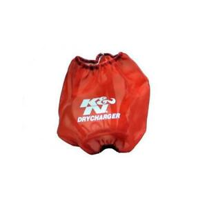 K N Rf 1042dr Drycharger Air Filter Wrap 6 5in Tall Red