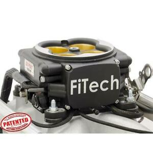 Fitech 37854 Go Port Efi Fuel Injection System Sbc 200 550 Hp