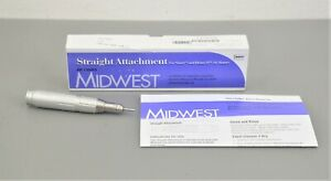 New Dentsply Midwest Straight Attachment Dental Handpiece 720005 Shorty Rhino xp