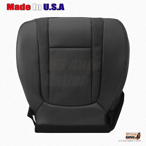 2010 2014 Ford F150 Svt Raptor Driver Bottom Perforated Leather Seat Cover Blk