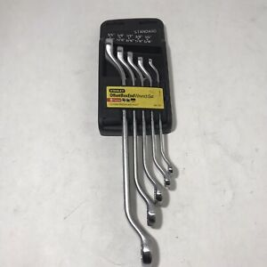 Stanley Double Offset Box Wrench 5pc Set