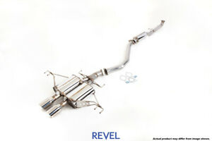 Tanabe Revel Medallion Touring S Catback Dual Exhausts For Civic Type R Fk8