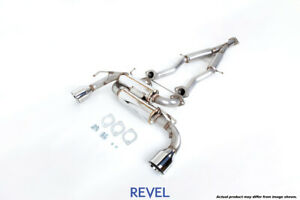 Tanabe Revel Medallion Touring S Catback Dual Exhausts For 09 20 Nissan 370z Z34