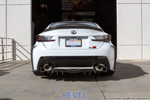 Tanabe Revel Medallion Touring S Axle Back Dual Exhausts For 15 20 Lexus Rc F